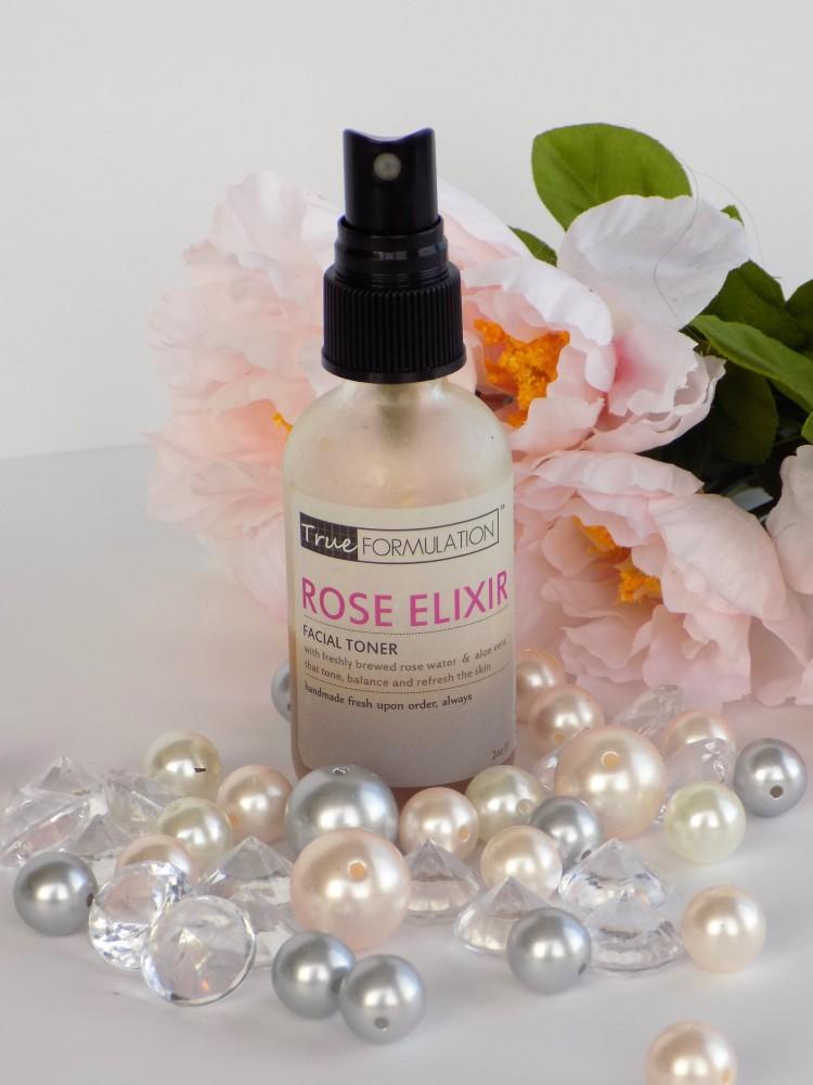 TrueFormulation Rose Elixir facial toner