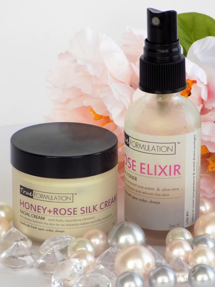 TrueFormulation Rose Skincare line all natural skincare