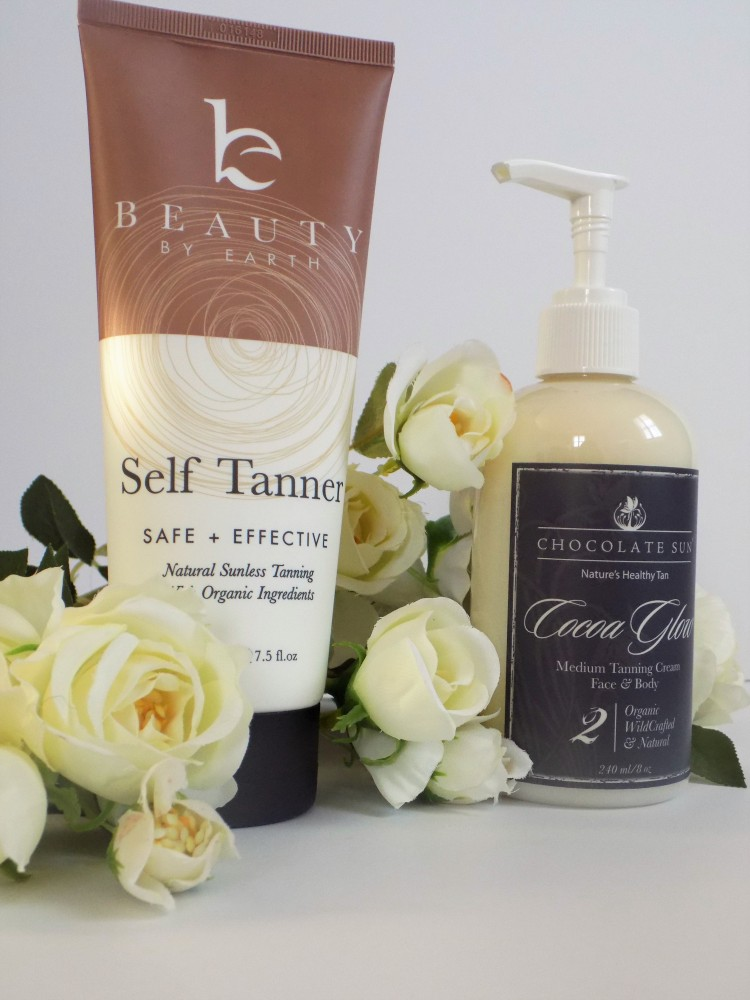 Natural and organic self tanner